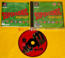 SUPERSONIC RACER Ps1 Versione Inglese Super Sonic »»»»» COMPLETO