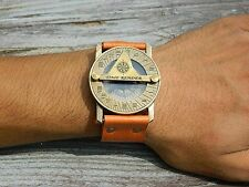 Stempunk Wrist Compass and Watch Sundial-Beautiful Steampunk Time Piece