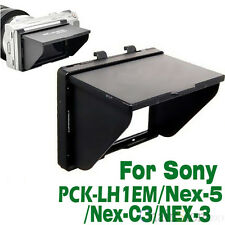 LCD Pop-Up Screen Hood Cover Protector for Sony Alpha NEX-5 NEX-3