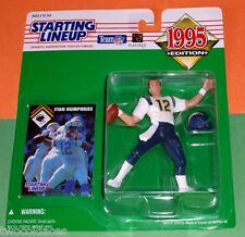 1995 STAN HUMPHRIES San Diego Chargers Rookie - low s/h - sole Starting Lineup