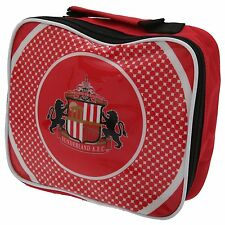 Sunderland AFC Official Football Lunch Box Cool Bag Red