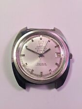 VINTAGE OMEGA ELECTRONIC F300HZ GENEVE CHRONOMETER MEN WATCH FOR SPARES PARTS