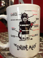 Engine Man Firefighter Ceramic Coffee Mug / Cup - Perfect Firefighter Gift