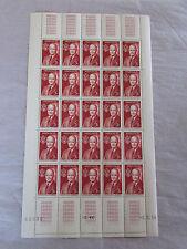 planche de 25 timbres..Monaco..1956...FIPEX...