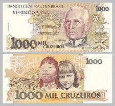 Brasilien / Brazil 1000 Cruzeiros 1991 p231c unz.