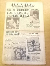 MELODY MAKER 1955 JANUARY 22 KEN COLYERS MARGARET WHITING JAZZ BIG BAND SWING