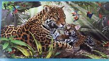 "Leopard/Jaguar Beach/Bath Towel 30"" X 60"" New"