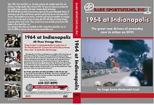 1964 Indy 500 on DVD! - A.J. Foyt wins, Sachs, MacDonald killed in fiery crash!