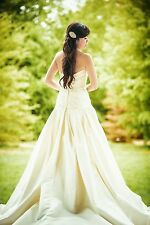 David's Bridal Oleg Cassini Wedding Dress CPK512