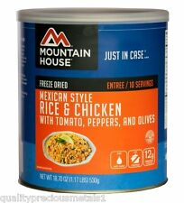 1 - # 10 Can - Mexican Style Rice & Chicken - Mountain House Freeze Dried Food