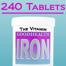 "HIERRO 14mg 240 Tabletas 1 por día (""The_vitamina"")"