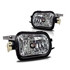 2001-07 MERCEDES BENZ W203 C-CLASS CRYSTAL CLEAR FOG LIGHTS OE STYLE PAIR SET