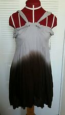 NWT PLUS MINUS TIMES DIVIDE ANTHROPOLOGIE LONG SHIRT OR SHORT DRESS  OMBRE