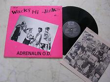 ADRENALIN O.D. The Wacky Hi-Jinks of *US PUNK*PRIVATPRE