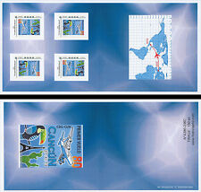 "B Collector Booklet Perso stamps ""A380 Air France, 1st Flight Paris-Cancun"" 2013"