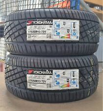 175/50/13 Yokohama A539 Tyres x2 (Pair of) 1755013 72V- x2 New Tyres