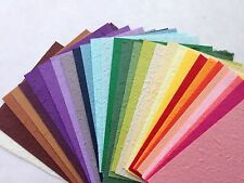 30 pcs. of handmade mulberry Saa paper - Scrapbook, Craft, Card, Invitations