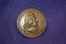 French King Louis XIV Bronze Award Medal  MDCXCIII (1693) 41mm - 40g