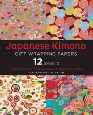 Japanese Kimono Gift Wrapping Papers : 12 Sheets (2015, Paperback)