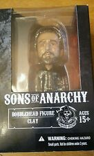 Sons Of Anarchy Jax Bobble Head in Clay box Factory Defect RARE