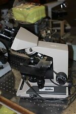 Olympus BH2   Microscope W/ 10X/20L EYE PIECES AND OBJECTIVES