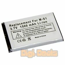 Cellphone Battery For Blackberry M-S1 Bold 9000 9700 9780 1500mAh