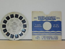 VINTAGE VIEW-MASTER 3D ~ PERFORMING ELEPHANTS - St. Louis Zoo  No. 925, 1950