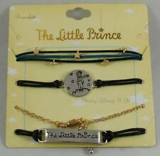 New The Little Prince Movie Space Stars Fox Charms Arm Party Cord Bracelet Set