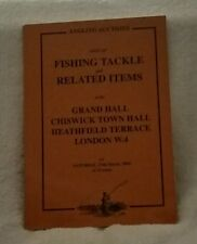 Angling Auctions sale of fishing tackle & related items 2004