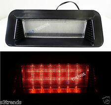 LED Universal Stop Lamp Rear Slanted Window 3rd Third Brake Light 12V