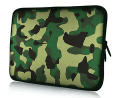 """Camo 10"""" 10.1"""" 10.3"""" Laptop Sleeve Tablet Case Netbook Computer Carry Bag Cover"""