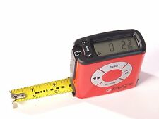 eTAPE 16 Digital Tape Measure Polycarbonate RED 16' Measuring Made Easy !!