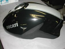 Ducati Monster S4RS Fuel Tank Black / Silver Stripe OEM 58610631BG