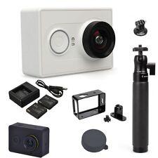 XiaoMi Xiao Yi Sports Action Camera+Selfie Stick+Alu Case+Dual Charger+Battery