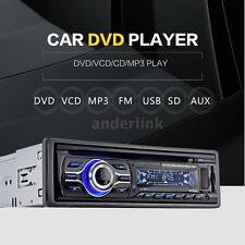 Universal Car CD DVD VCD MP3 Player Stereo Radio FM Aux Input SD/USB Port A8L5