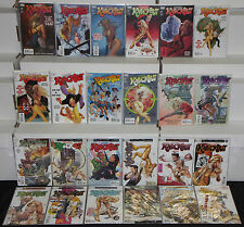 Modern Vertigo CODENAME: KNOCKOUT 24pc High Grade Comic Lot #0-23 Bad Girl