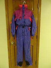 Womens Vintage Columbia Ski Suit One Piece Snowmobile S Unused EUC Radial Sleeve