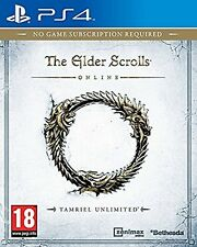 Ps4 jeu the elder scrolls online: tamriel unlimited article neuf