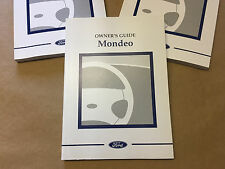 Nuevo Genuino Ford Mondeo MK2 ST24 ST200 Etc Owners Manual Libro nos