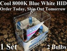 H11 8000K Blue Xenon HID Headlight Low Beam Halogen Light Bulbs