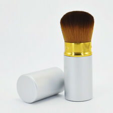 Powder Bronzer Makeup Brush Foundation Retractable Kabuki Blush Cosmetic Brushes
