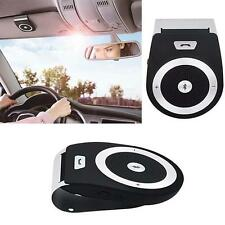 Super Wireless Bluetooth Bass Stereo In Car Handsfree Speaker Kit For iPhone WT