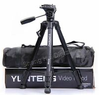 YUNTENG VCT-668RM tripod for SLR camera,DV,Professional Photographic equipment