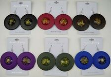Wholesale Earrings Lot 6 pairs Drop Style Colorful Dangle Fashion Earring gg-1