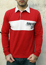 Conte of Florence Sailing Cup Mens Long Sleeved Polo Top Auth 80s Red S NICE