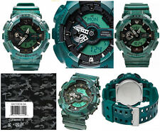 Casio G-Shock GA110CM-3A Green Metallic Camouflage X-Large Case Watch