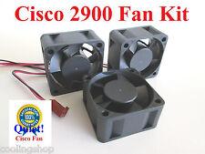 Quiet! 3x Cisco Replacement Fan Kit Cisco 2900 2912 2924-XL-EN by Sunon MagLev