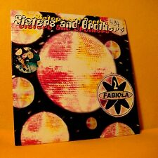 Cardsleeve Single CD 2 FABIOLA Sisters and Brothers 2TR 1998 disco eurodance