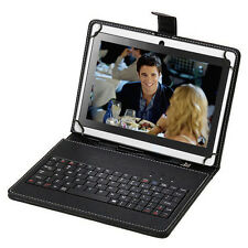 "iRULU Tablet 7"" New Android 4.4 Kitkat Quad Core 16GB WIFI Dual Cam w/ Keyboard"
