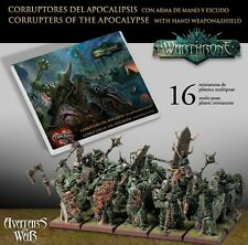 Avatars Of War Warthrone Corrupters Of The Apocalypse With Weapons And Shields